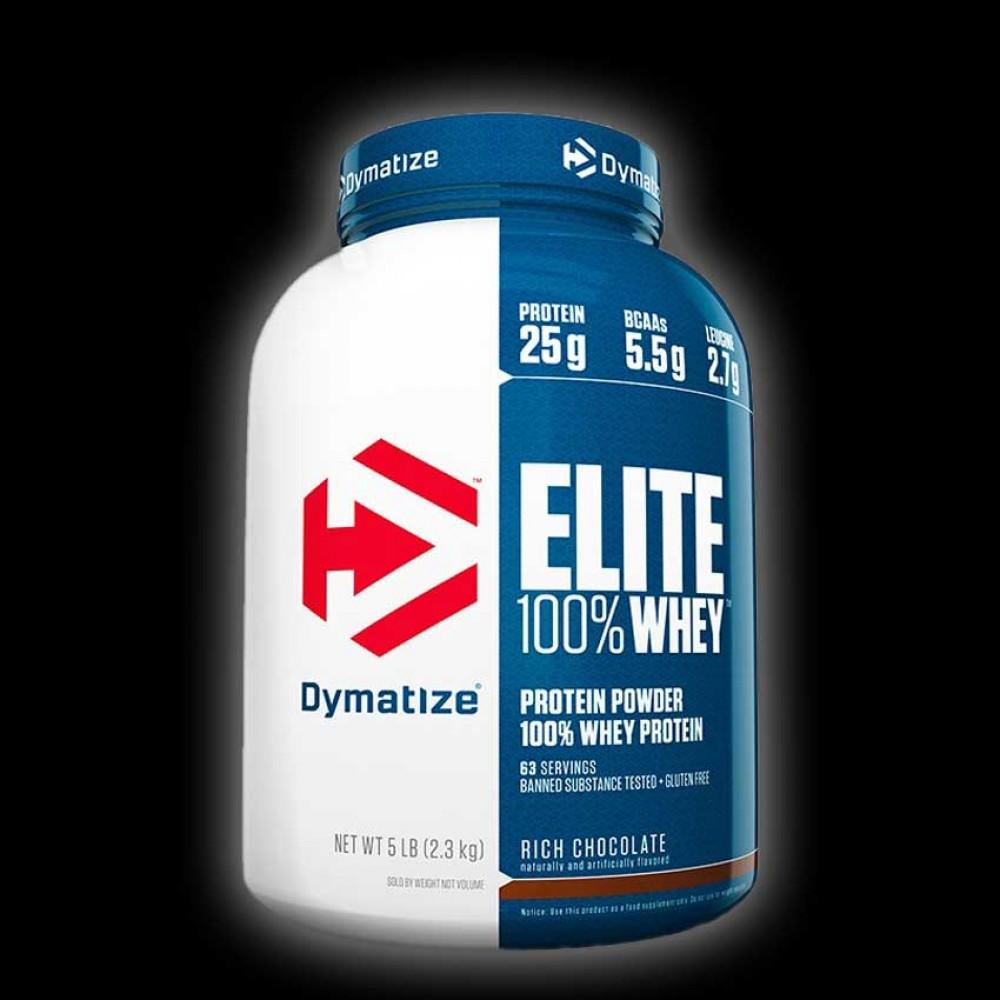 Dymatize Nutrition Elite 100% Whey Protein - 5 lbs