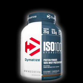 Dymatize Nutrition ISO 100 Whey Protein Isolate - 3 LBS Gourmet Chocolate