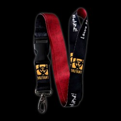 Mutant badge strap