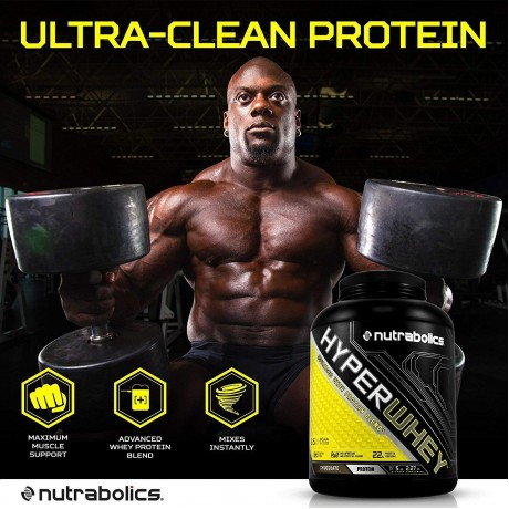 Nutrabolics Hyper Whey Protein 5lb Chocolate