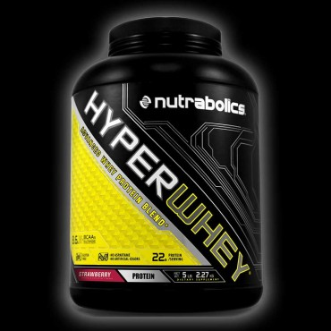 Nutrabolics Hyper Whey 5lb Strawberry